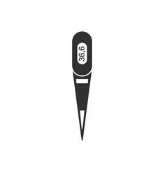 Black icon on white background electronic vector