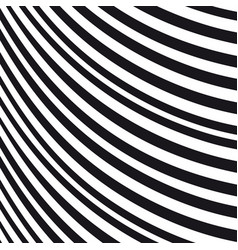 Abstract wavy background black and white pattern vector