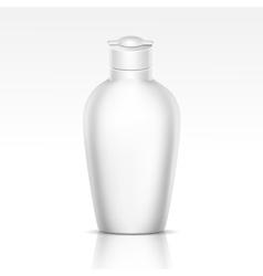Bottle for shampoo shower gel liquid soap vector