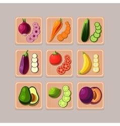 Delicious Vegetables vector image