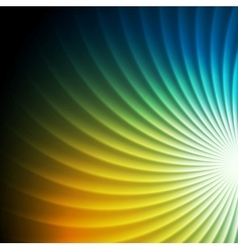 Shiny colorful swirl background vector