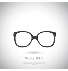 Sunglasses icon vector image vector image