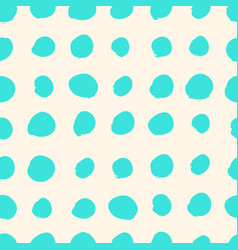turquoise blue watercolor seamless pattern vector image