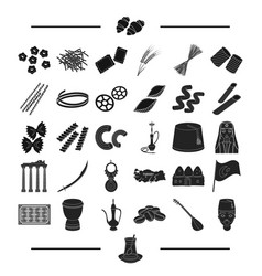 Tourism accessories leisure and other web icon vector