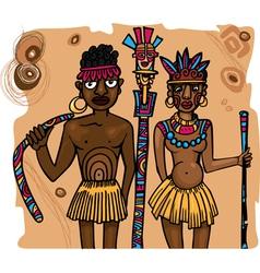 Aboriginals vector