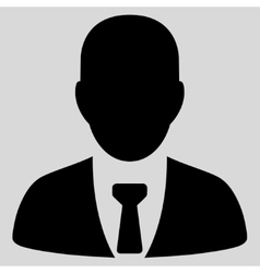 Businessman Icon from Commerce Set vector image