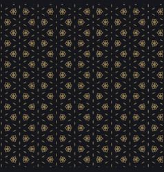 cute black and gold pattern design vector image vector image