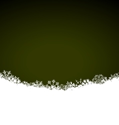 Winter abstract background with snow christmas vector