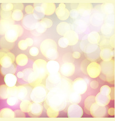 Abstract background with colorful defocused bokeh vector