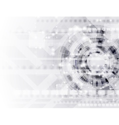 Abstract modern technology template vector image