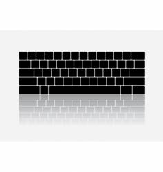 Keyboard design vector