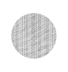 abstract graphic element scratched line circle vector image