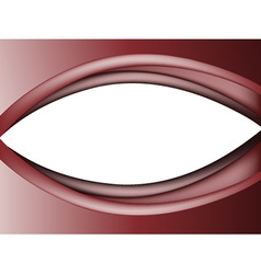 Abstract red eye vector