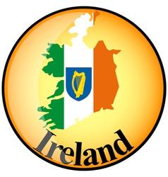 button Ireland vector image vector image