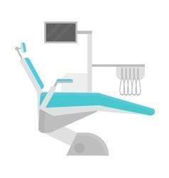 Dental chair clinic vector image