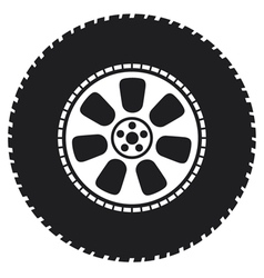 Wheel - tyre vector