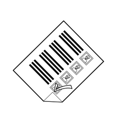 Democracy voting vote vector