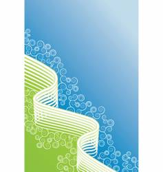 line curves vector image