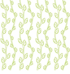 Spring willow pattern vector