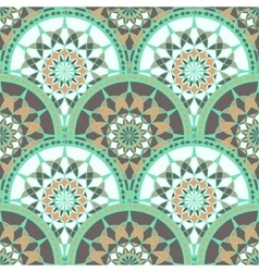 Seamless pattern with ethnic tribal ornament vector