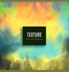 Colorful watercolor texture stain background vector