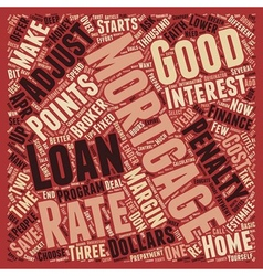 How To Save Money When You Apply For A Mortgage vector image vector image