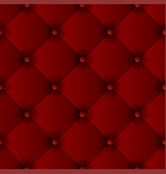 Red sofa texture seamless pattern vector