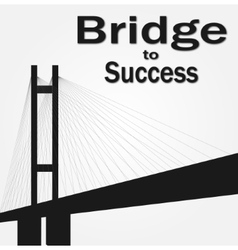 This is a big bridge vector image