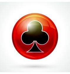 Casino games icon vector