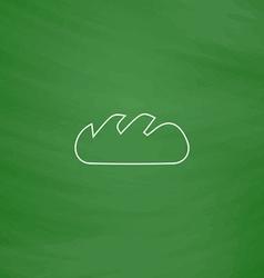 Bread computer symbol vector