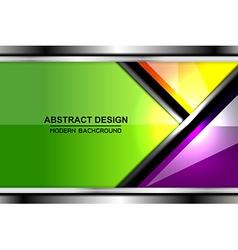 Business color backgrounds design vector