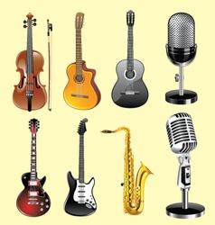 Musicali nstruments vector