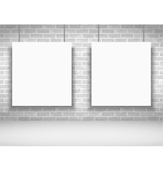 White Frames vector image vector image