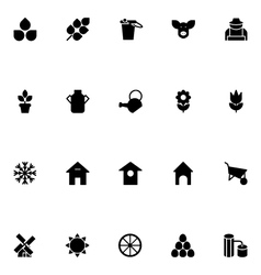 Agriculture icons 1 vector