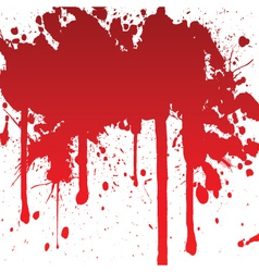 bloody splash vector image