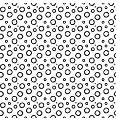 Dot seamless pattern vector