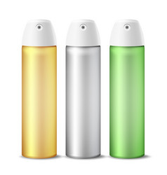 realistic air freshener spray can vector image vector image