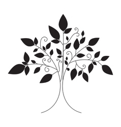Tree emblem tree icon for logo vector