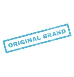 Original brand rubber stamp vector