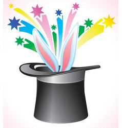 magic hat vector image