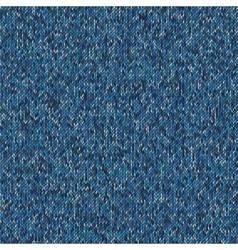 Christmas sweater design seamless blue knitting vector