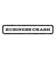 Business crash watermark stamp vector