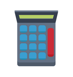 Calculator financial number maths symbol vector