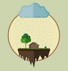 Farm oasis vector