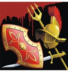 Gladiators armament vector