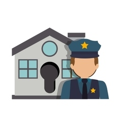 House security system vector