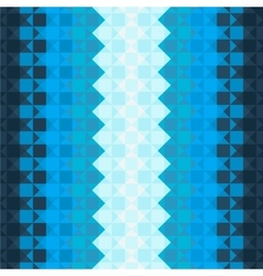 Pattern with blue squares vector image vector image