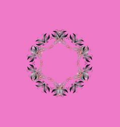 Snowflake ornamental pattern snowflakes vector