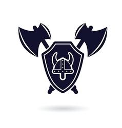 Viking logo vector