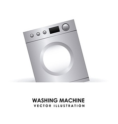 Washing machine design vector
